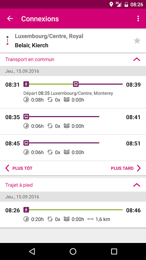 Mobiliteit.lu – Screenshot
