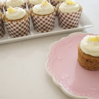 Spiced Cinnamon Cupcakes & Pineapple Cream Cheese Frosting