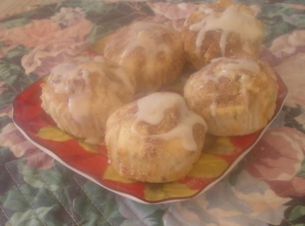 Tender Apple And Walnut Muffins Recipe