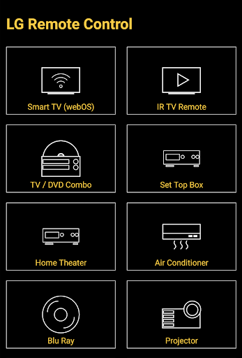 Remote for LG TV / Devices : Codematics 1.5 screenshots 1
