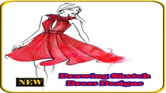 Drawing Sketch Dress Designs for PC / Windows 7, 8, 10 / MAC