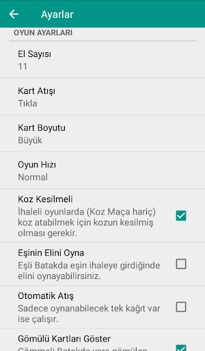 Batak - Tekli, Eu015fli u0130nternetsiz Batak apkpoly screenshots 8