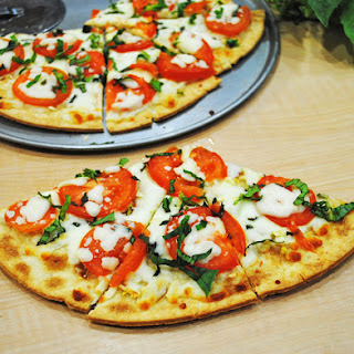Margherita Pizza Flatbread Recipes.