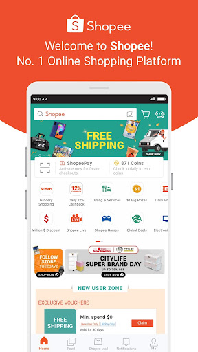 Shopee: #1 Online Platform 2.59.11 screenshots 1