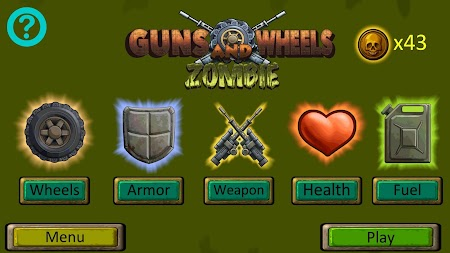 Guns And Wheels Zombie (Full) APK screenshot thumbnail 3
