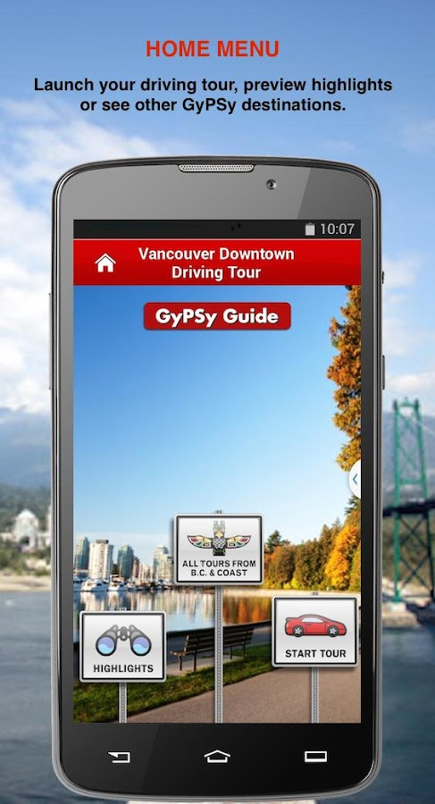 Vancouver Downtown GyPSy Tour- screenshot