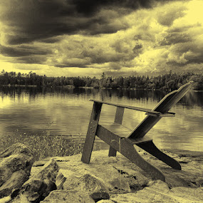 Not, Waiting for that Storm! by David Pilasky - Landscapes Cloud Formations ( pwcotherworldly )