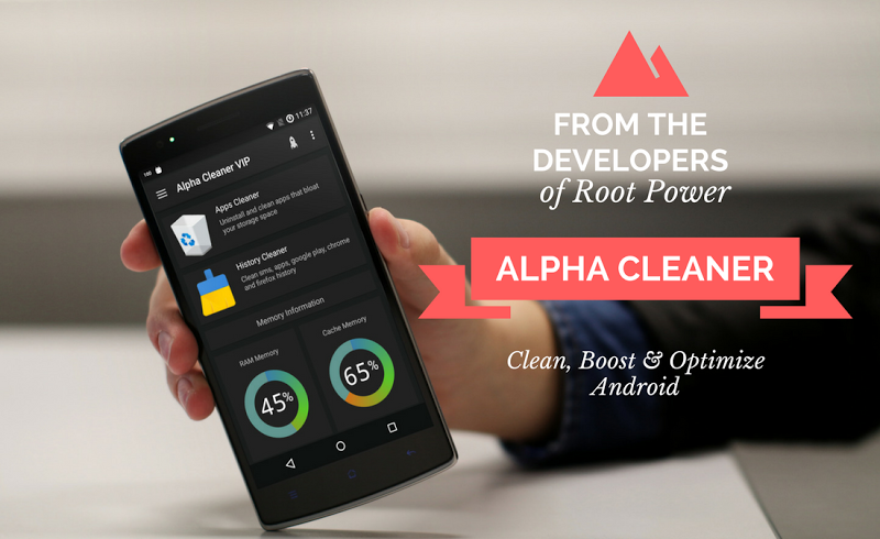 Alpha Cleaner VIP [Boost & Optimize] - 50% OFF Screenshot 0