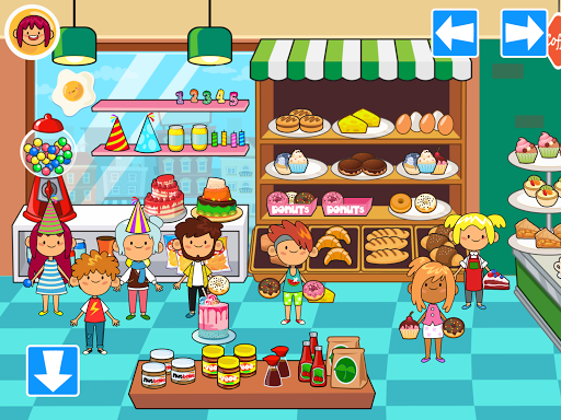 My Pretend Grocery Store - Supermarket Learning filehippodl screenshot 2
