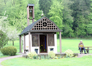 Photo: Day 32 - Another Little Chapel!  (This One Was Just Outside Jestetten)