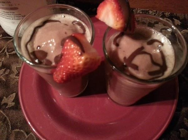 Josie's Chocolate-swirl Banana Split Shake Recipe