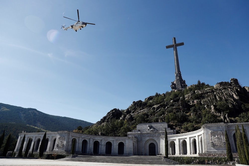 Franco's remains are reburied, highlighting Spain's great divide