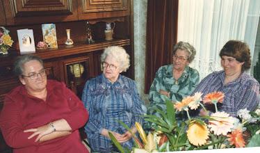 Photo: Jaantje, Stijn, Neeltje en Nel Verhoeks