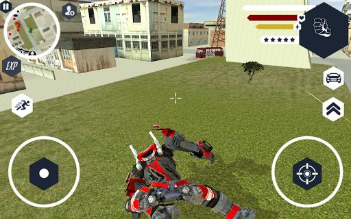 Robot Firetruck apktram screenshots 1