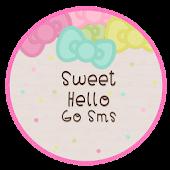 Sweet Hello GO SMS