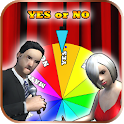 YES or NO wheel - spin to decide icon