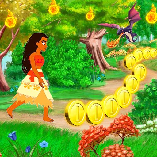 Princess moa Jungle Run