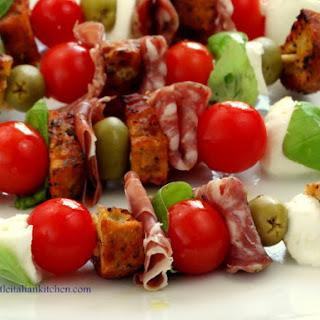 Italian antipasto – Appetizer idea on a stick