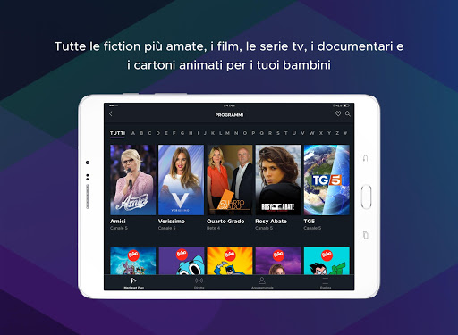 Mediaset Play 5.3.1 Screenshots 8