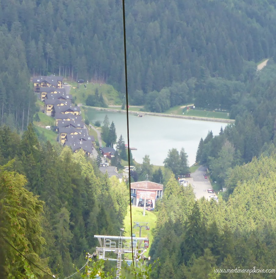 View of Hrabovo from the cable car, Slovakia