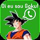 Figurinhas Goku com frases - WAStickerApps