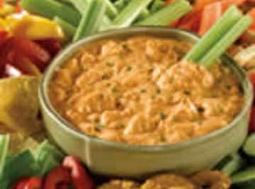 Fast and Easy  Buffalo Chicken Dip