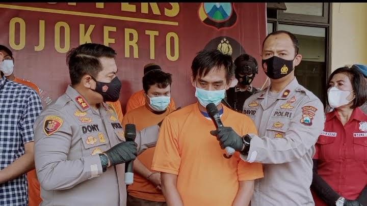 Kencani Janda 51 Tahun di Villa Pacet, Pemuda Asal Krian Diringkus Polisi