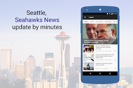 The Seattle News – Local, Seahawks, NFL News - náhled