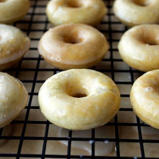 Healthier Mini Glazed Doughnuts Recipe