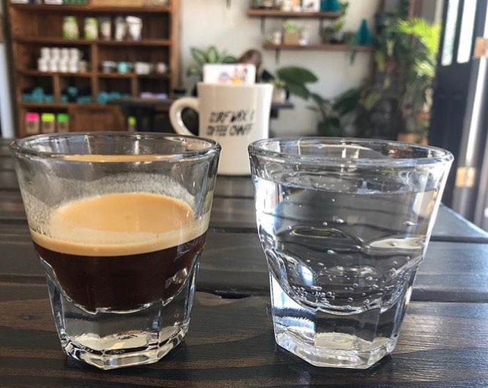 Espresso and fizzy water served with a surfing-inspired mellowness. Photo: Lord Windsor.