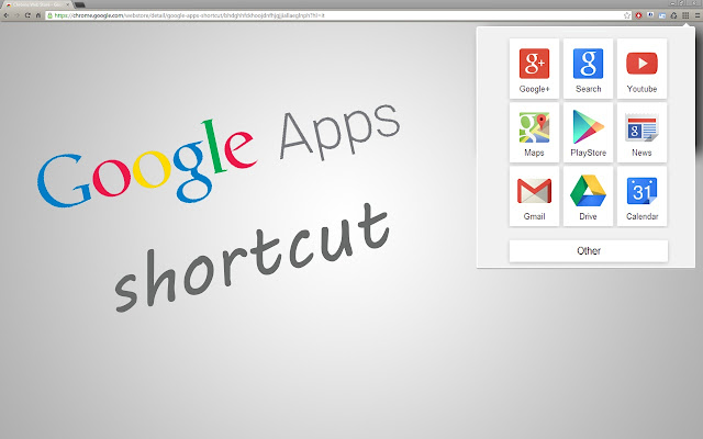 Google Apps Shortcut