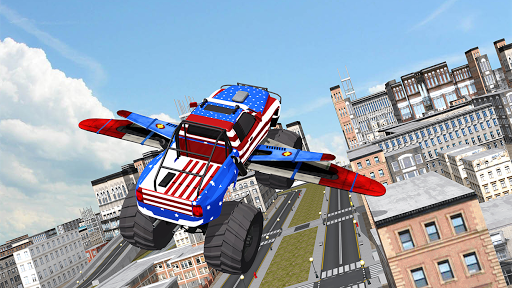 Flying Monster Truck