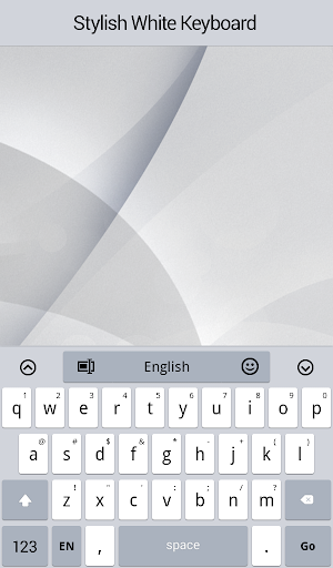 Stylish White Keyboard