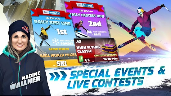 Red Bull Free Skiing- screenshot thumbnail