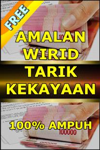 AMALAN WIRID TARIK KEKAYAAN - náhled