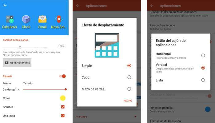 Instalar un launcher en Android