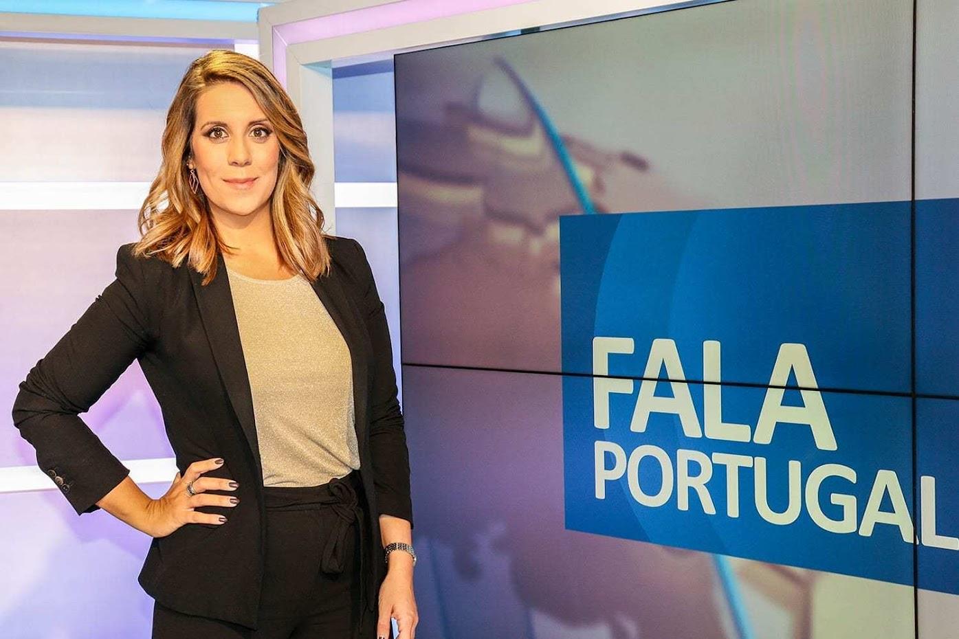 Vania Mateus apresentadora do 'Fala Portugal'