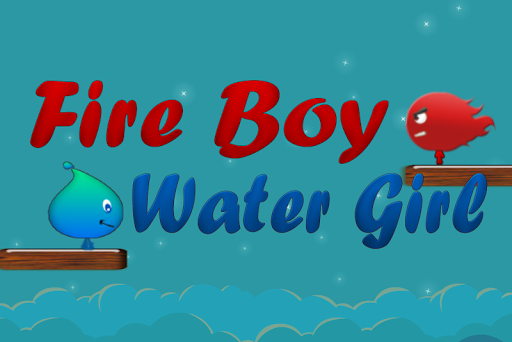 Pixel fire boy and water Girl