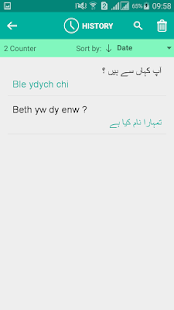 Welsh Urdu Translator - náhled