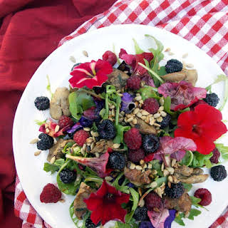 Chicken Liver Berry Salad.