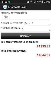 Car Loan Calculator (Malaysia) screenshot 5