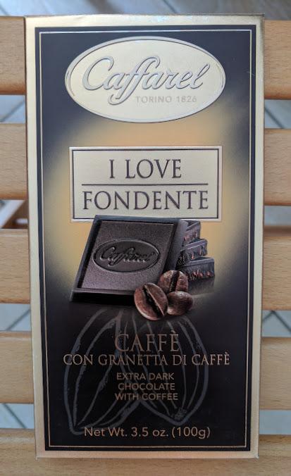 75% caffarel coffee bar