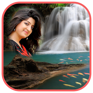 download Natural Waterfall Photo Frame apk