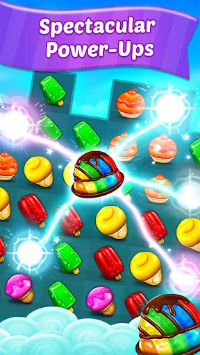 Ice Cream Paradise - Match 3 Puzzle Adventure  screenshots 3