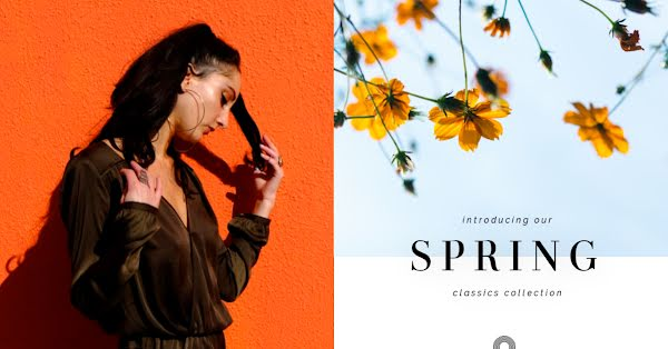 Spring Classics Collection - Facebook Ad Template
