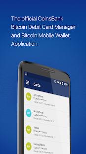 CoinsBank Mobile Wallet - náhled