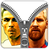 Football legend zipper lock