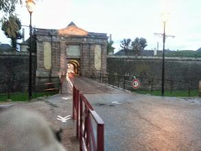 Photo: Porte d'entrée dans la cité Vauban de Neuf-Brisach