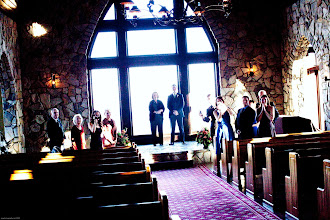 """Photo: """"Here comes the bride!""""  ~ Cliffs at Glassy Chapel - 11/09  http://WeddingWoman.net"""