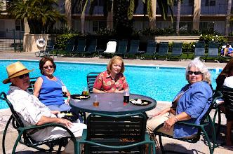 Photo: Darold and Patti Elias Merritt, Shari Day Hubbard, Carol Carr Mayo